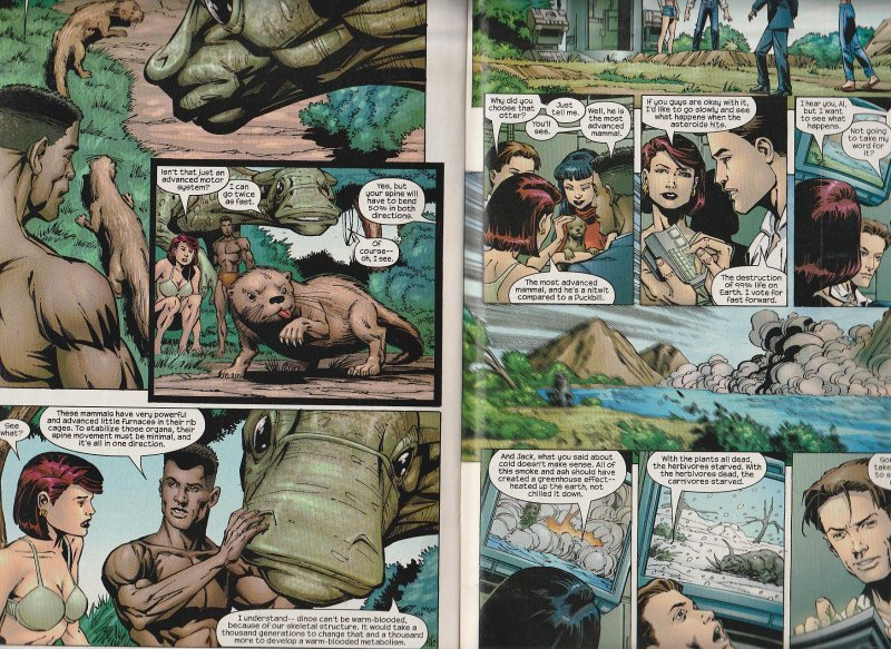 Marville # 1,2,3,4,5  The Secret History of the Marvel Universe ?