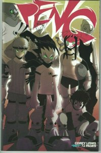 Peng! #1 VF martial-arts/competitive kickball - Corey Lewis Rey Oni 2005 manga