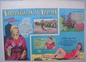 Strange As It Seems: Esther Williams Swimmer, Queen Elizabeth Hix from 3/25/1945