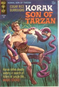 KORAK SON OF TARZAN 29 FINE June 1969 COMICS BOOK