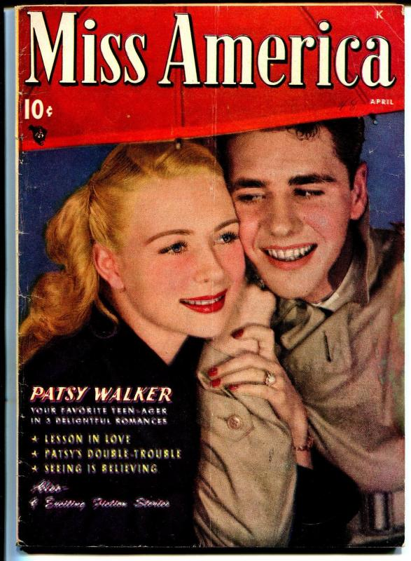 Miss America Vol. 7 #9 1948-Timely-Patsy Walker-Millie The Model pin-up-VG+