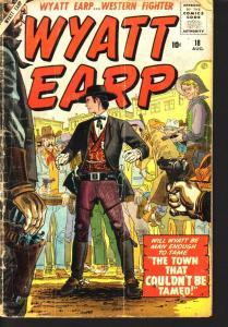 WYATT EARP #18  STAN LEE JOE MANEELY  AYRES ATLAS 1958 FR