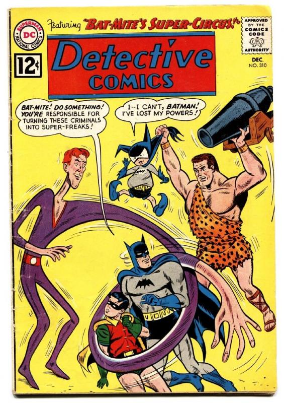 DETECTIVE COMICS #310 comic book 1962-BATMAN & ROBIN - BAT-MITE