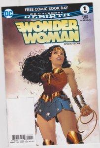 Wonder Woman #1 Free Comic Book Day 2017