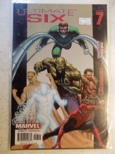 ULTIMATE SIX # 7 MARVEL SPIDER-MAN