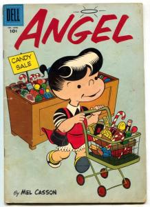 Angel #5 1956- Dell comics- candy store cover G/VG
