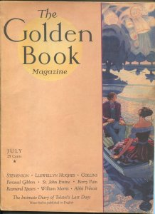 Golden Book 7/1931-new cover format-pulp thrills-VG/FN