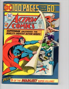ACTION COMICS #443 (VF/NM) Bronze Age DC Comics ID#47P