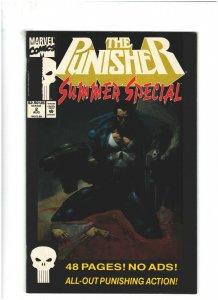 Punisher Summer Special #2 VF+ 8.5 Marvel Comics 1992 Simon Bisley Cover