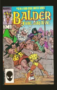 Marvel Comics Balder The Brave Vol 1 No 3 March 1986