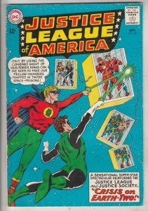 Justice League of America #22 (Sep-63) FN+ Mid-High-Grade Justice League of A...