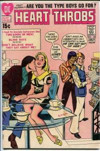 HEART THROBS #132 1971-DC COMICS-ROMANCE SODA SHOP-COOL VG/FN