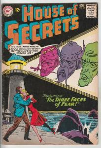 House of Secrets #62 (Oct-63) FN/VF Mid-High-Grade Mark Merlin, Eclipso