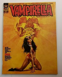 Vampirella #21 FN 1972 Warren Horror Magazine Dracula Witches Monsters Vampi