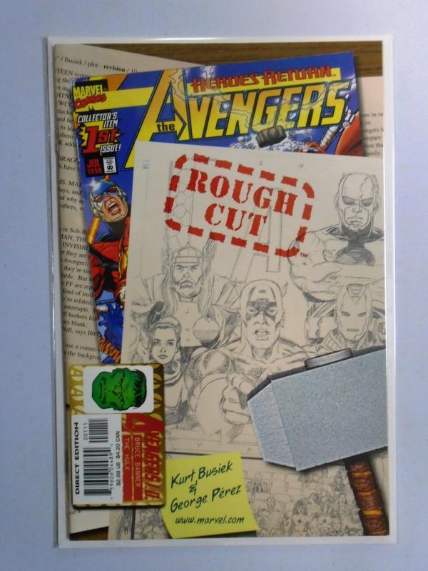 Avengers Rough Cut #1, 8.0/VF (1998)