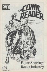 Comic Reader, The #102 VF; Street Enterprises   save on shipping - details insid