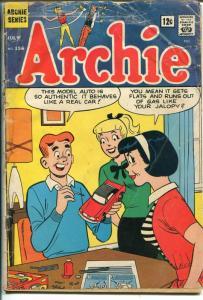 Archie #156 1965-Betty-Veronica-Jughead-Mustang model car-FR
