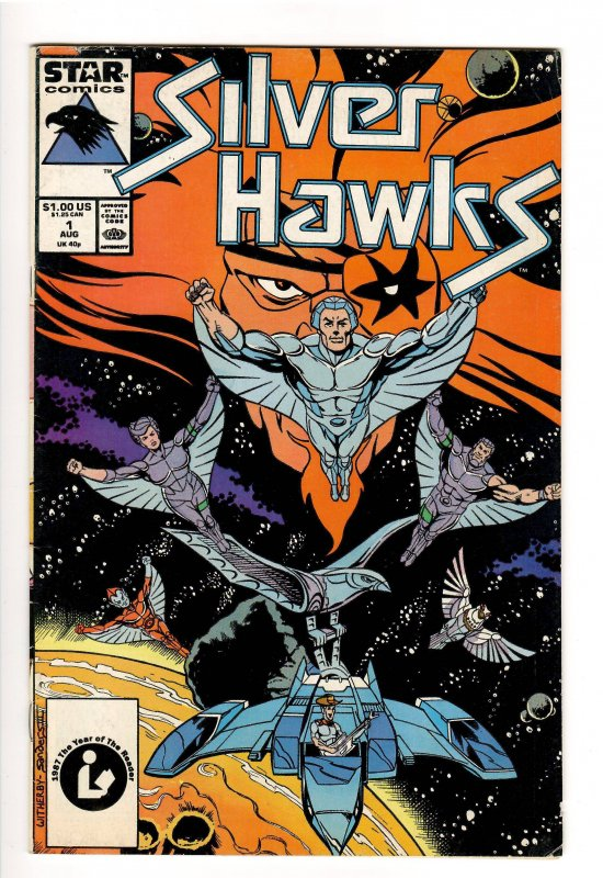 SILVERHAWKS 1 F 6.0;ANIMATED SERIES BEING REVIVED!!