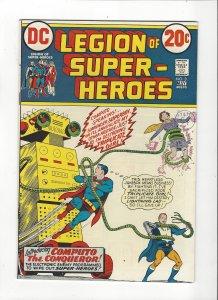 Legion Of Super-Heroes #3 (1973) The Legion VS. Computo High Grade