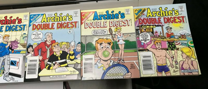 ARCHIE'S DOUBLE DIGEST MAGAZINE LOT of 11 Early-Mid 2000's FINE #14