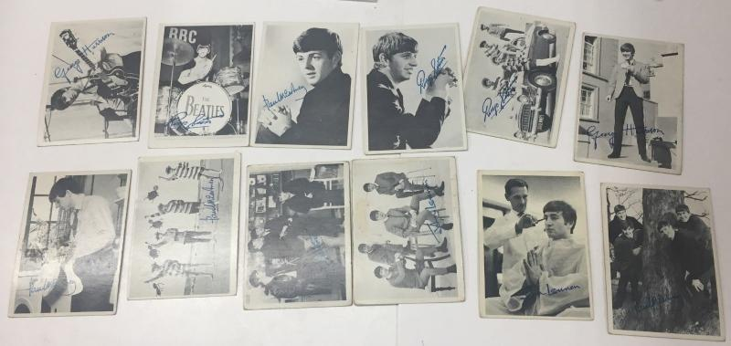 1964 TOPPS BEATLES first series CARD SET, INCOMPLETE, Condition varies