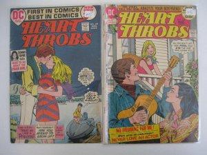 HEART THROBS LOT 6 Books Guide