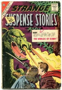 Strange Suspense Stories #54 1961-CHARLTON-KIRBY-DRAGON VG