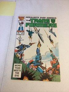 Transformers 21 Nm Near Mint Marvel Comics