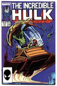INCREDIBLE HULK #331-comic book GREY HULK BEGINS-MCFARLANE