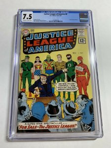 Justice League Of America #8 (DC, 1961-62) CGC Graded 7.5