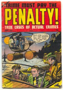 Crime Must Pay The Penalty #40 1954- Golden Age Ace Crime VG