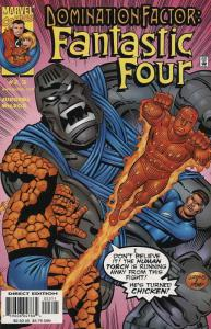 Domination Factor: Fantastic Four #2 VF/NM; Marvel | save on shipping - details
