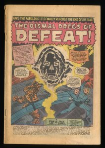 Fantastic Four #58  Doctor Doom! Coverless