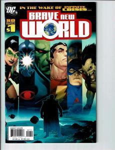 4 DC Comics; # 1 2 5 49 Brave New World Superman Hawkman Supermans Reign J99