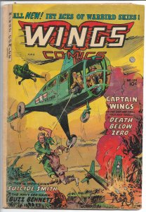 Wings Comics #124 - Golden Age - July 1954 (G)