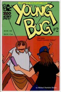 YOUNG BUG 2, NM, Zoo Arsonist Press, 1996, Country Insect,