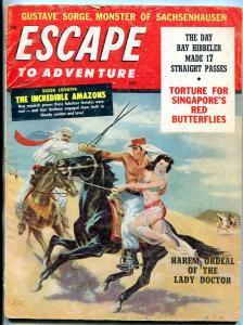 Escape To Adventure August 1960-JUNE HARLOW-BULLFIGHTING G-