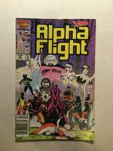 Alpha Flight 33 Fine Fn 6.0 1st First Lady Deathstrike Marvel
