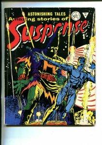 AMAZING STORIES OF SUSPENSE-#98-BRITISH-HORROR-NICK FURY-HITLER-SCI FI-vg