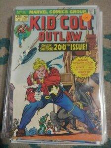 KID COLT OUTLAW   #200 1971 MARVEL  WESTERN GIL KANE JACK KIRBY