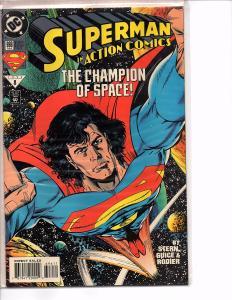 Dc Comics Action Comics #696 and #810