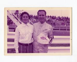 Gus Linder-Sprint Car Driver-Portrait Photo-1960's-VG