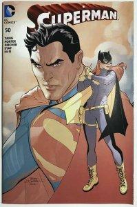 Superman #50 Midtown Comics Exclusive Variant NM