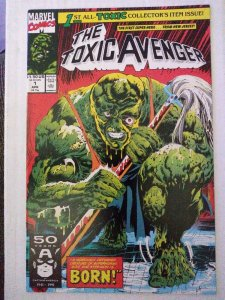 Toxic Avenger #1 First Appearance Toxic Avenger