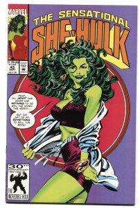 SENSATIONAL SHE-HULK #43 Marvel Lingerie Spicy cover  1992