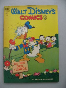 WALT DISNEY COMICS STORIES 132 VG+  Barks