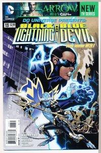 DC Universe Presents (2011) #13 NM Black Lightning and Blue Devil