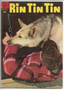 Rin Tin Tin  No. 8 March-May 1955 - Golden Age (VF)