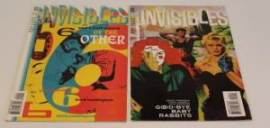 DC Vertigo Comics-Lot of 2-The Invisibles #24 & #25 F/VF (SIC556)