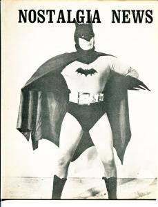 Nostalgia News #19 1973-Batman Serial-Ron Haydock-Capt Midnight-EC Comics-VF